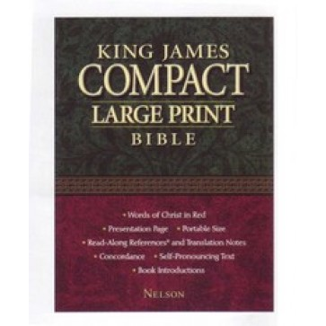 King James Compact Large Print Bible