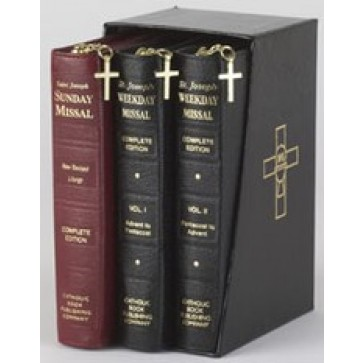 Saint Joseph 3 Volume Gift Box Set, Sunday and Daily Missals