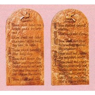 Ten Commandment Plaques