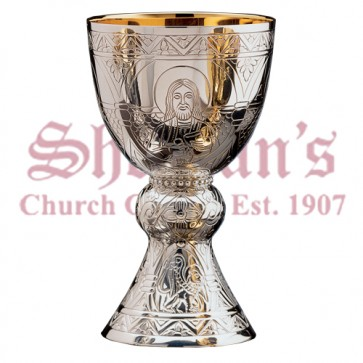 Hand engraved Tassilo chalice