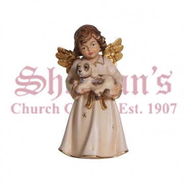 Bell Angel Standing With Dog