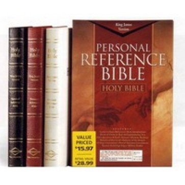 King James Version Personal Reference Bible