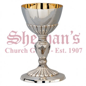 Embossed Chalice and Dish Paten