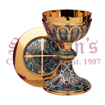 The Romanesque Sterling Chalice and Paten