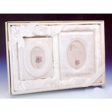 First Communion Album and Frame Set