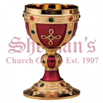 The Visigoth Chalice with Dish Paten
