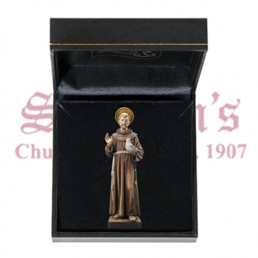 Mini Saint Francis with Case