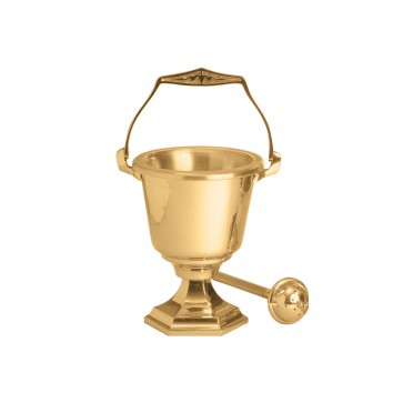 Beautiful Holy Water Pot and Sprinkler