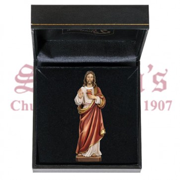 Sacred Heart of Jesus with Gift Case