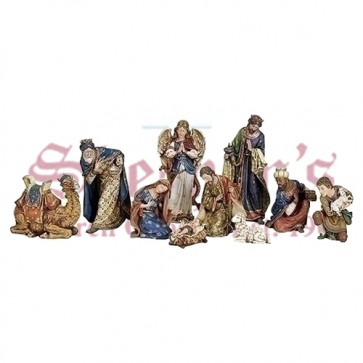 Stone Nativity Set