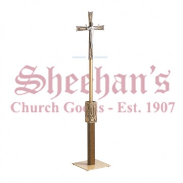 Processional Risen Christ Crucifix in Antique Bronze Finish