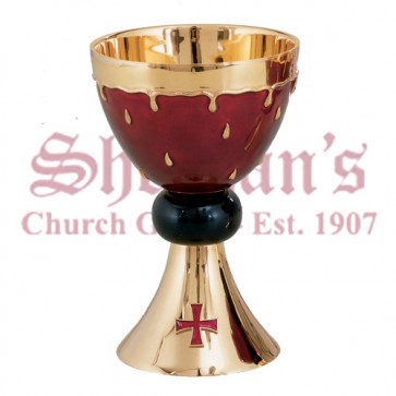 "Chalice and 6"" Bowl paten"