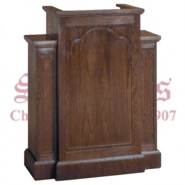 Pulpit with Extended Shelf