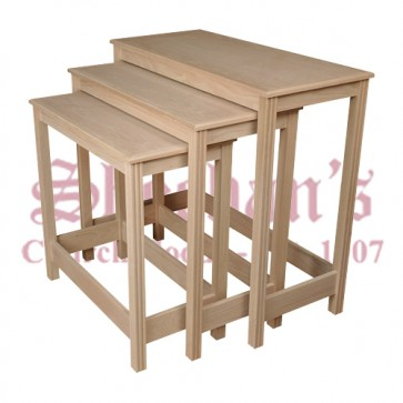 Elegant Nesting Table set with Comfortable Approach