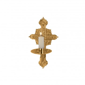 Richly Ornamented Consecration Candle Holder