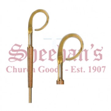 Crozier of Brass and Wood