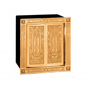 Double Action Doors Bronze Tabernacle