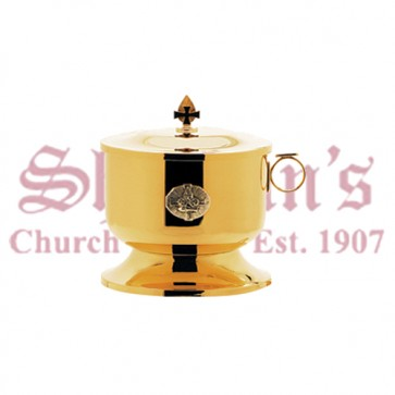 Large Open Ciborium and Lid