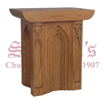 Gothic Style Tabernacle Stand
