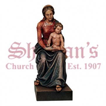 Madonna and Child 4' Seated