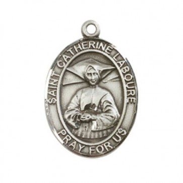St. Catherine Laboure Large Pendant