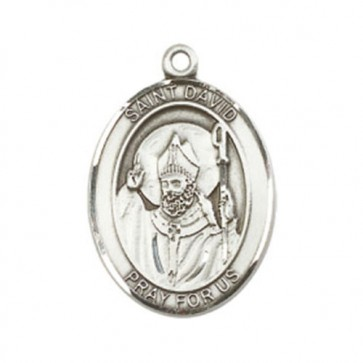 St. David of Wales Large Pendant