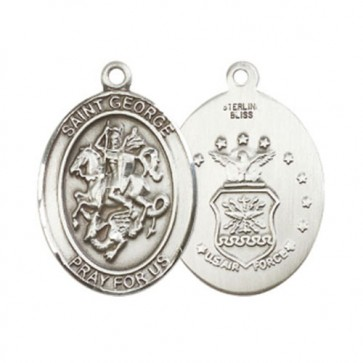 St. George / Air Force Large Pendant