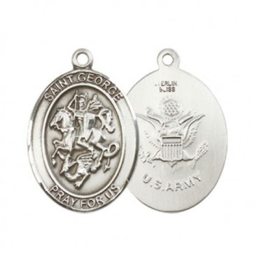 St. George / Army Large Pendant