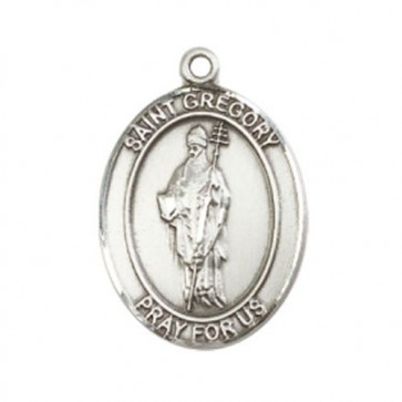 St. Gregory the Great Large Pendant