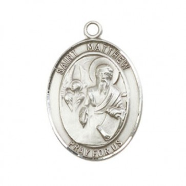 St. Matthew the Apostle Large Pendant