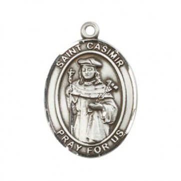 St. Casimir of Poland Large Pendant