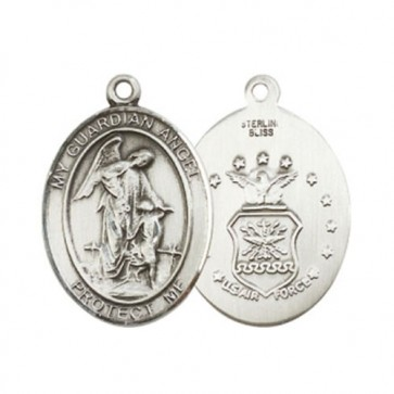 Guardian Angel / Air Force Large Pendant