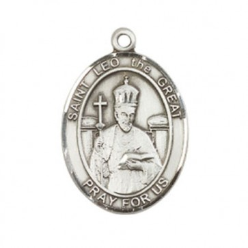 St. Leo the Great Large Pendant