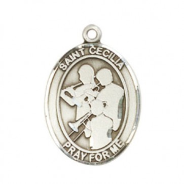 St. Cecilia / Marching Band Large Pendant