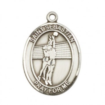 St. Sebastian / Volleyball Large Pendant