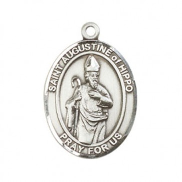St. Augustine of Hippo Large Pendant