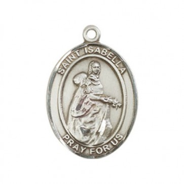 St. Isabella of Portugal Large Pendant