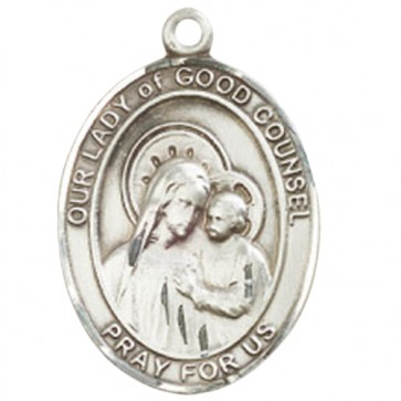 O/L of Good Counsel Large Pendant