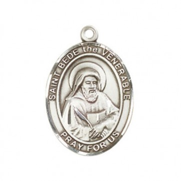 St. Bede the Venerable Large Pendant
