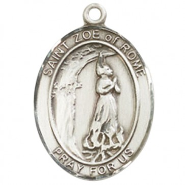 St. Zoe of Rome Large Pendant
