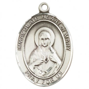 Immaculate Heart of Mary Large Pendant
