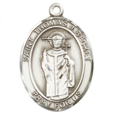 St. Thomas A Becket Large Pendant