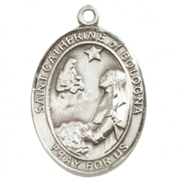 St. Catherine of Bologna Large Pendant