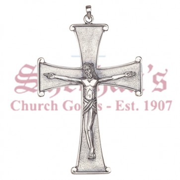 Pectoral Crucifix with Flared Edges