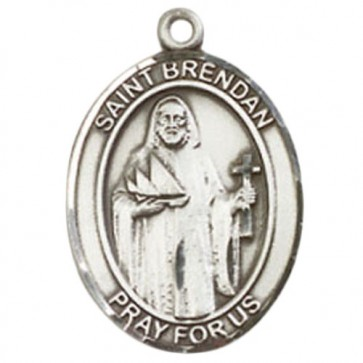 St. Brendan the Navigator Medium Pendant