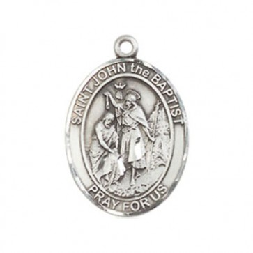 St. John the Baptist Medium Pendant