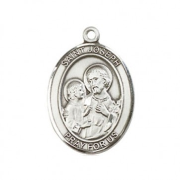 St. Joseph Medium Pendant