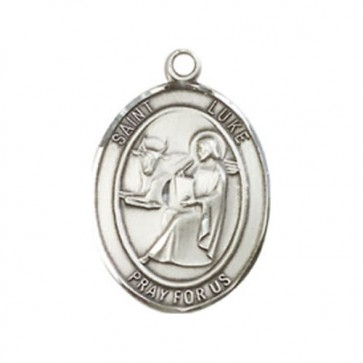St. Luke the Apostle Medium Pendant