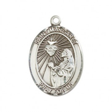 St. Margaret Mary Alacoque Medium Pendant