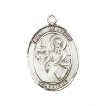 St. Matthew the Apostle Medium Pendant
